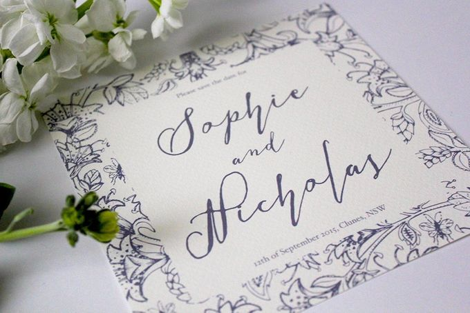 Spring Suite by With Paloma Stationery & Design - 003
