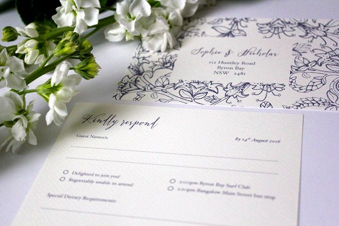 Spring Suite by With Paloma Stationery & Design - 004