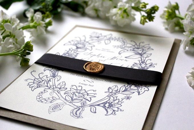 Spring Suite by With Paloma Stationery & Design - 005