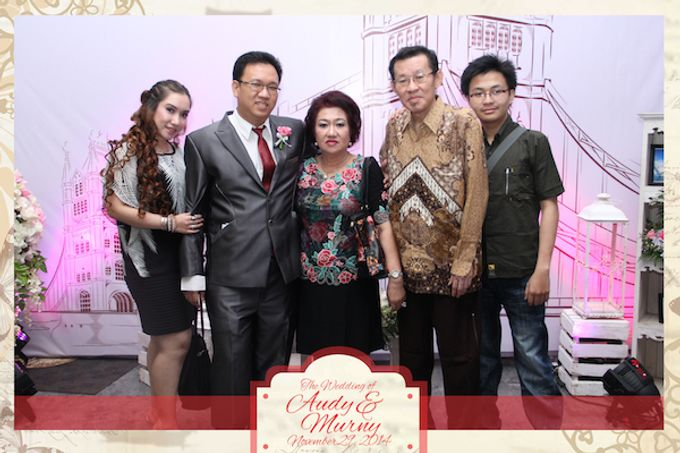 The Wedding of Audy & Murny by After 5 Photobooth - 006