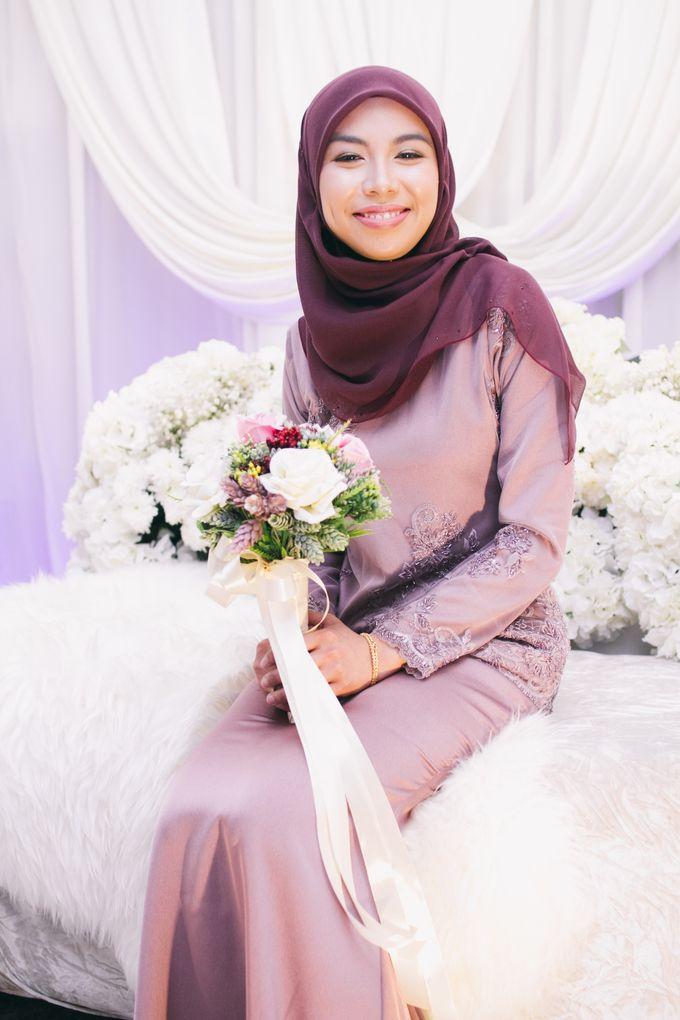 The engagement ceremony of Fauzana & Haqqa by Hanif Fazalul Photography & Cinematography - 003