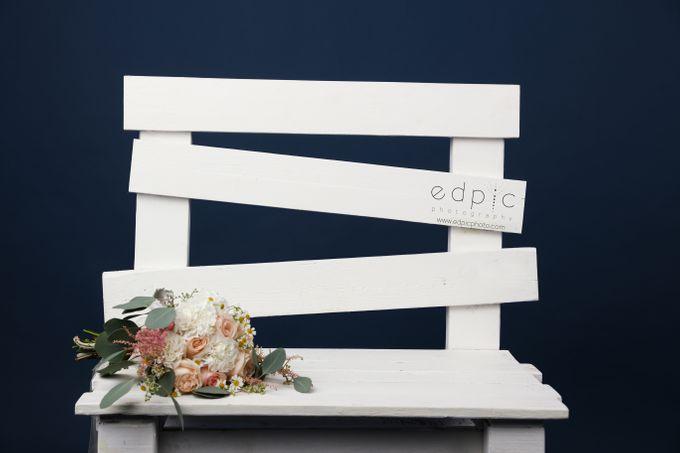 Bridal Hand Bouquet by Petite Fleur SG - 002