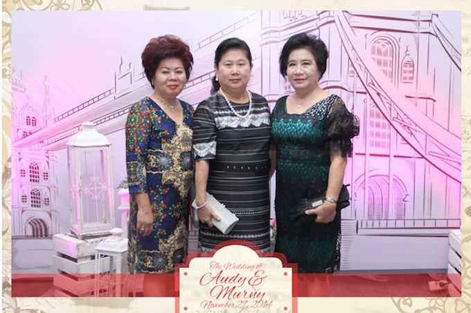 The Wedding of Audy & Murny by After 5 Photobooth - 007
