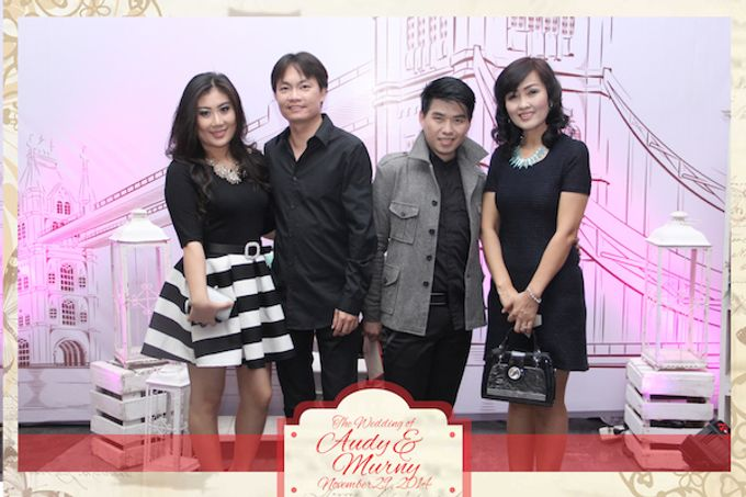 The Wedding of Audy & Murny by After 5 Photobooth - 008