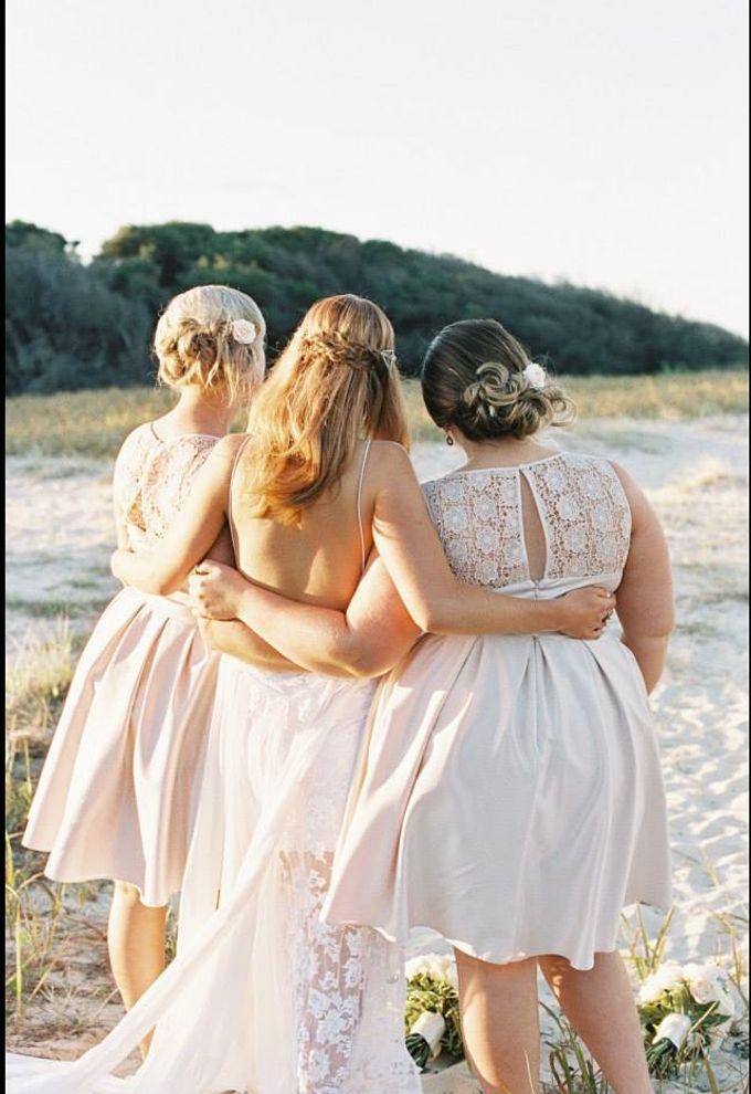 Beach Wedding by Tiara bridal artistry - 006