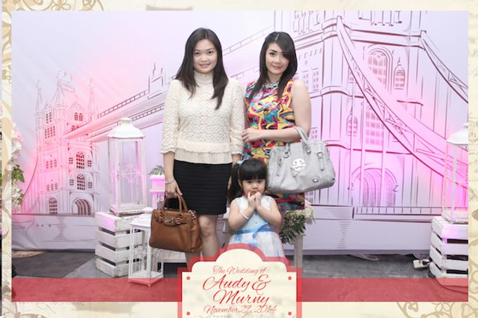 The Wedding of Audy & Murny by After 5 Photobooth - 009
