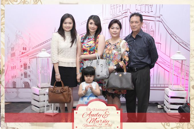 The Wedding of Audy & Murny by After 5 Photobooth - 010