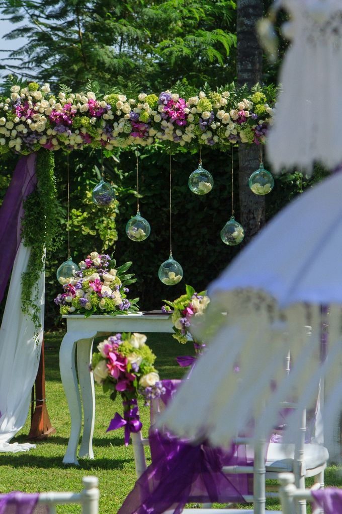 kayumanis jimbaran-wedding ceremony-garden by Kayumanis Private Villa and Spa - 004
