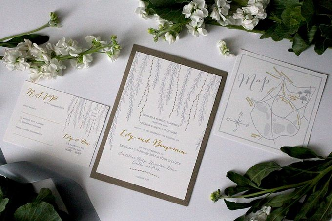 Willow Suite by With Paloma Stationery & Design - 002
