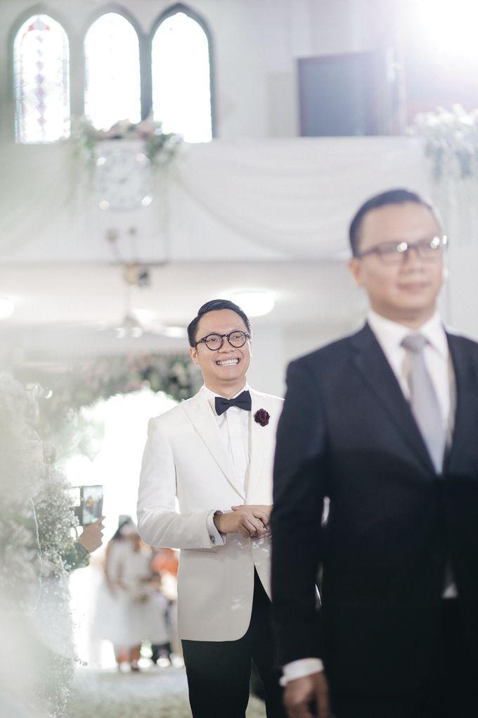 Togi & Jesicca - Holy Matrimony & Batak Ceremony by JAYSU Weddings by Jacky Suharto - 031