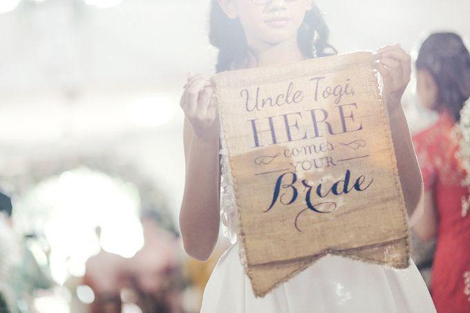 Togi & Jesicca - Holy Matrimony & Batak Ceremony by JAYSU Weddings by Jacky Suharto - 007