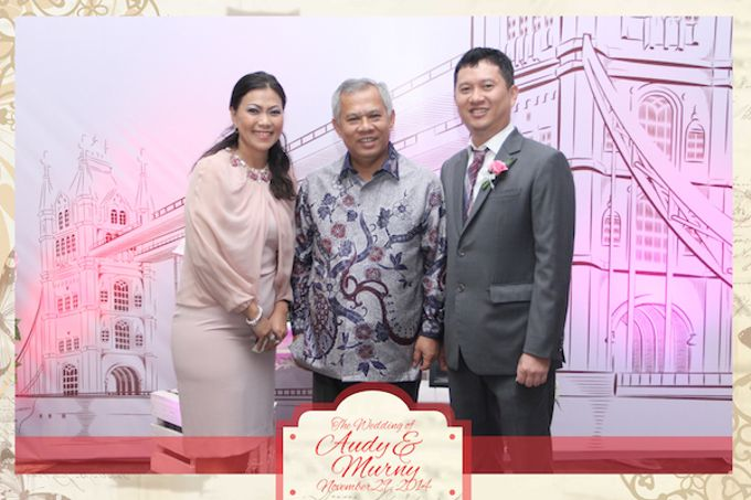 The Wedding of Audy & Murny by After 5 Photobooth - 012