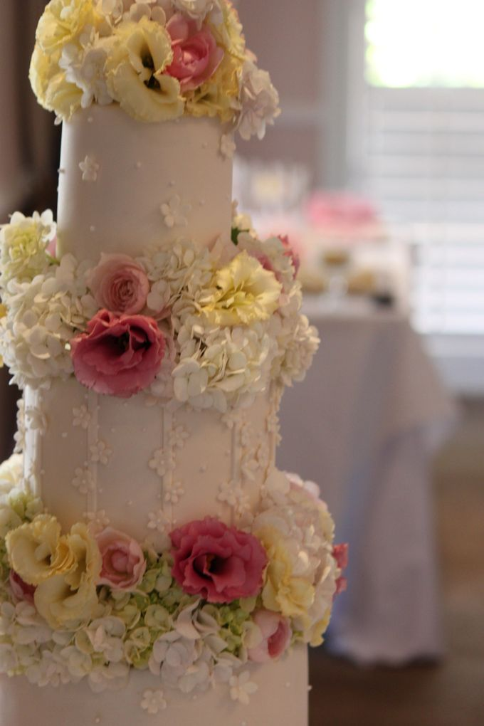 Wedding Cakes in the Hunter Valley by Project Cake - 010