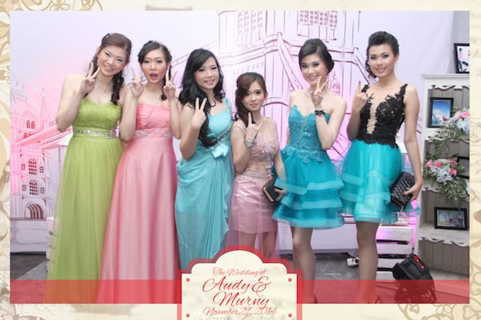 The Wedding of Audy & Murny by After 5 Photobooth - 013