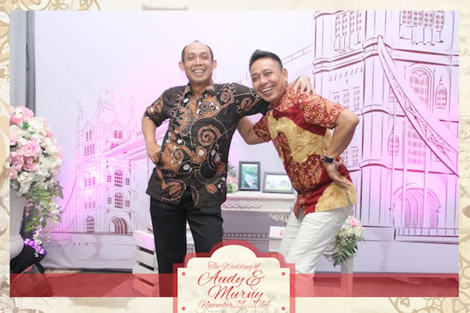 The Wedding of Audy & Murny by After 5 Photobooth - 014