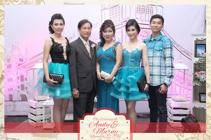 The Wedding of Audy & Murny by After 5 Photobooth - 015