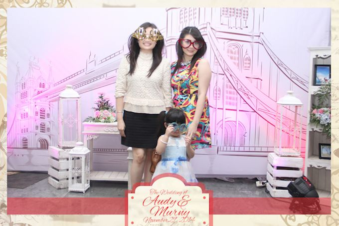 The Wedding of Audy & Murny by After 5 Photobooth - 018