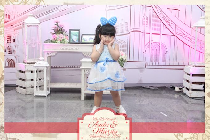 The Wedding of Audy & Murny by After 5 Photobooth - 019