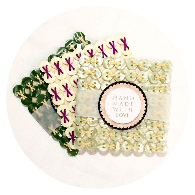 Glass Coasters by Pastiche Touch - 003