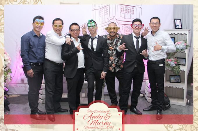 The Wedding of Audy & Murny by After 5 Photobooth - 020