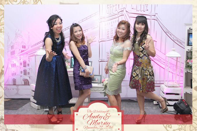 The Wedding of Audy & Murny by After 5 Photobooth - 021