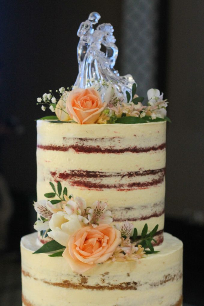 Wedding Cake - Arnold & Dea by Lareia Cake & Co. - 004