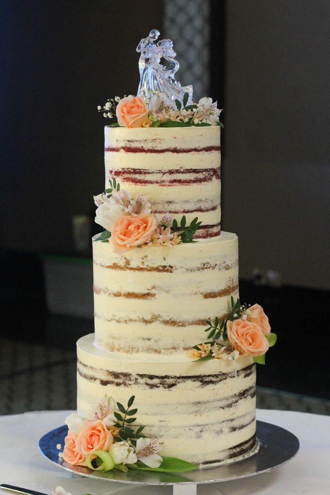 Wedding Cake - Arnold & Dea by Lareia Cake & Co. - 003