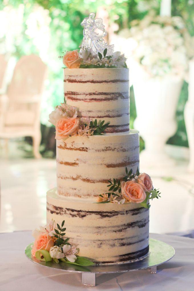 Wedding Cake - Arnold & Dea by Lareia Cake & Co. - 002