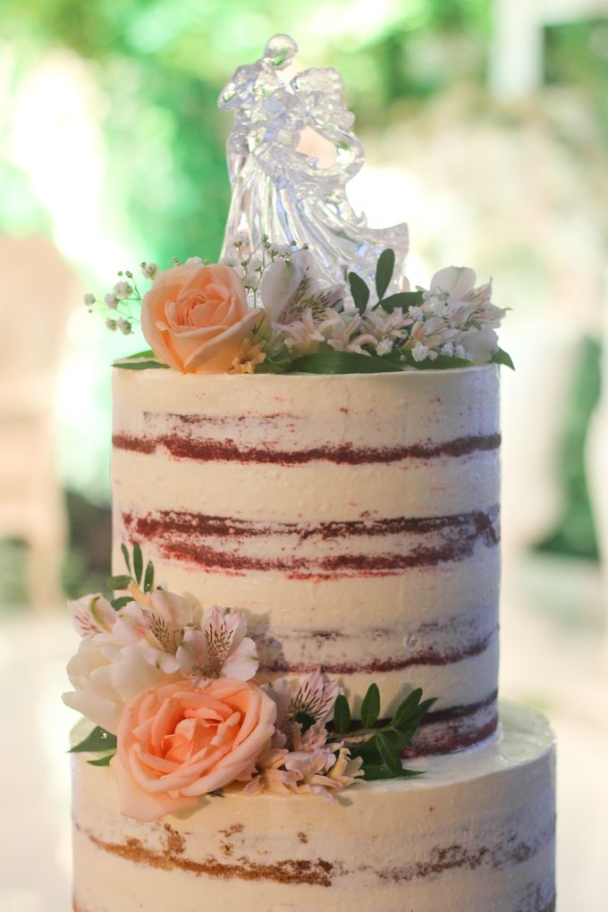 Wedding Cake - Arnold & Dea by Lareia Cake & Co. - 001