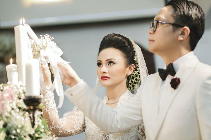 Togi & Jesicca - Holy Matrimony & Batak Ceremony by JAYSU Weddings by Jacky Suharto - 035