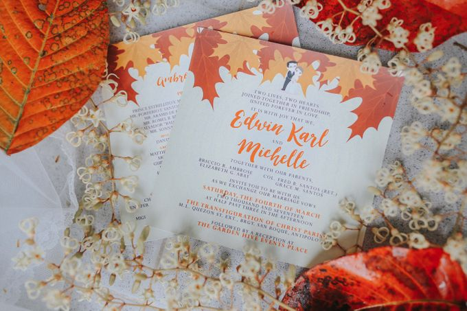 Edmin & Michelle Wedding by Berny Tia of style me Beautiful - 002