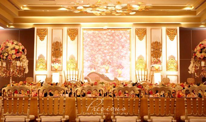Gleaming Gold Wedding by Precious Event Design - 002