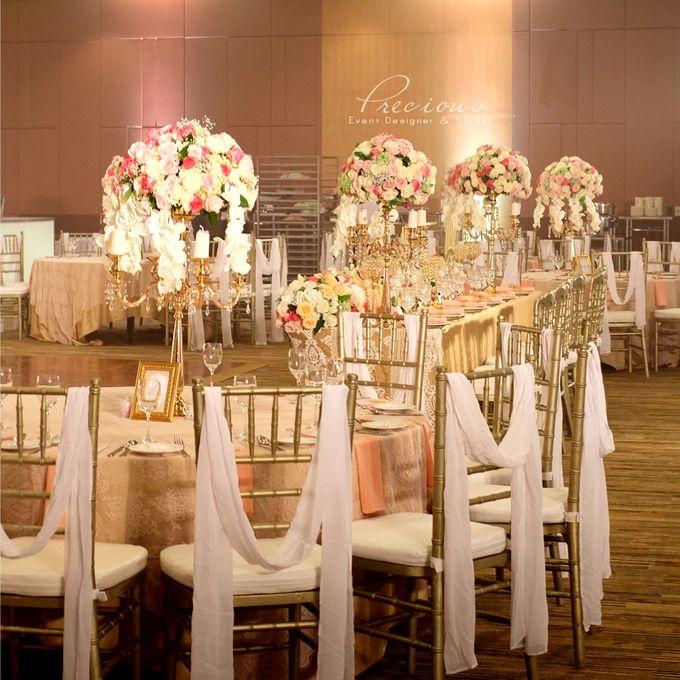 Gleaming Gold Wedding by Precious Event Design - 001
