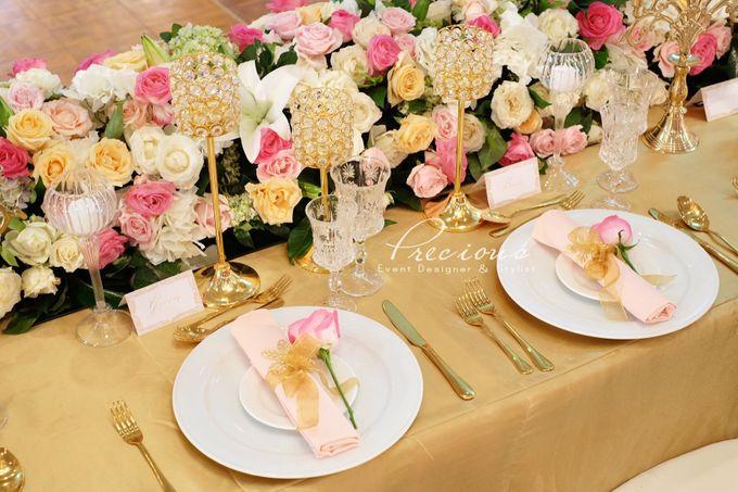 Gleaming Gold Wedding by Precious Event Design - 003