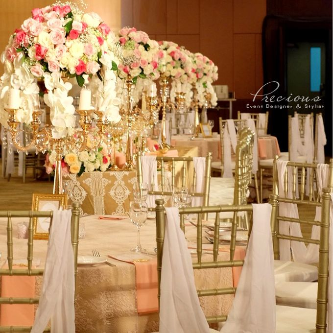 Gleaming Gold Wedding by Precious Event Design - 004