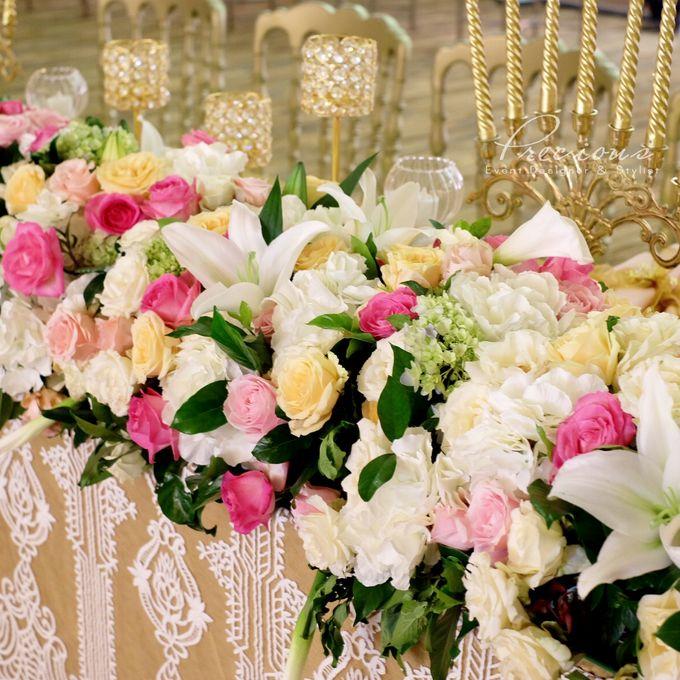 Gleaming Gold Wedding by Precious Event Design - 005