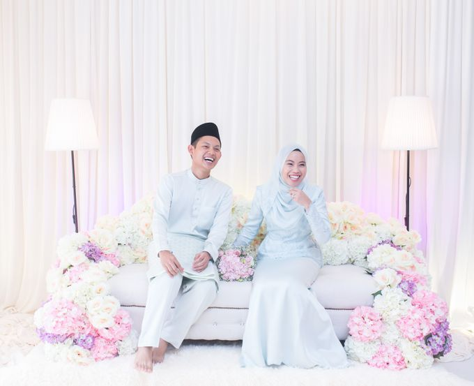 Engagement Ceremony of Hajar & Farith by The Lucid Company - 005