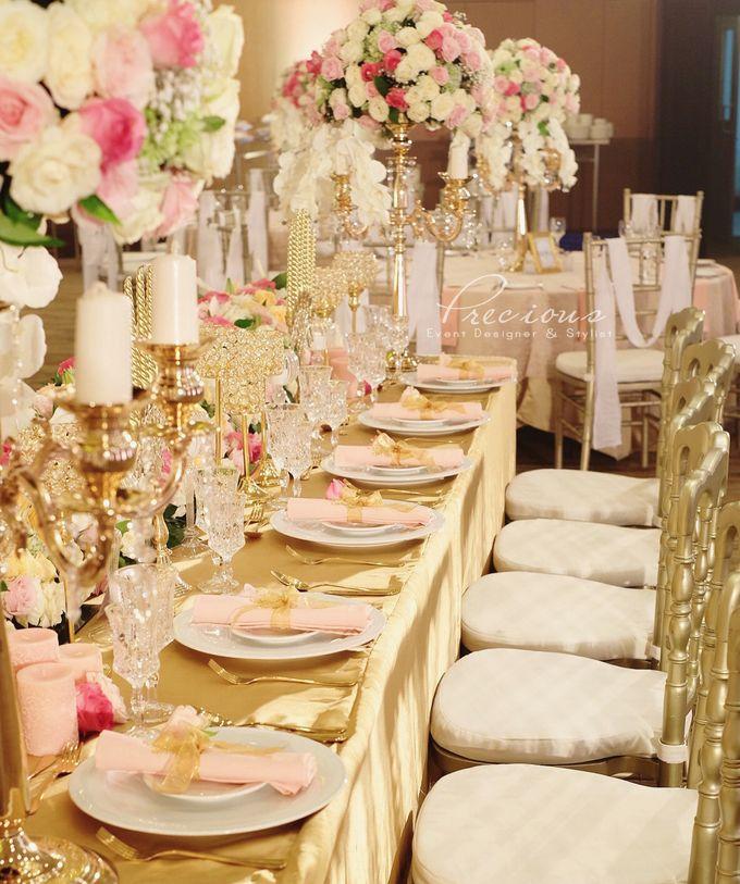 Gleaming Gold Wedding by Precious Event Design - 006