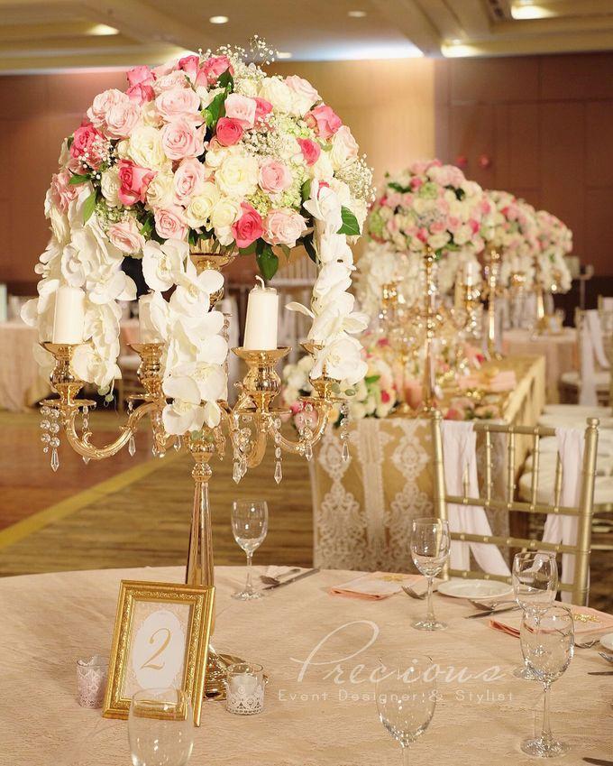 Gleaming Gold Wedding by Precious Event Design - 007