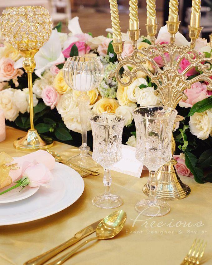 Gleaming Gold Wedding by Precious Event Design - 008