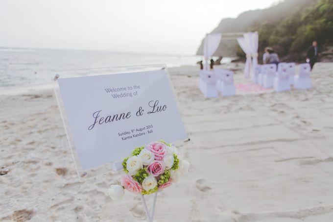 Jeane & Luo Wedding by Karma Kandara - 005