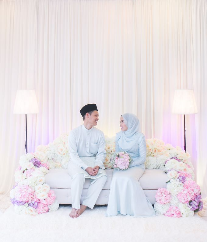 Engagement Ceremony of Hajar & Farith by The Lucid Company - 004