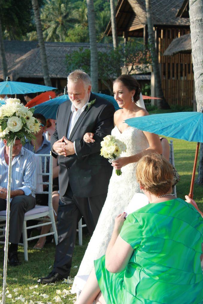 JEEVA KLUI Wedding of Caitlin and Adam by lombok wedding planner - 007