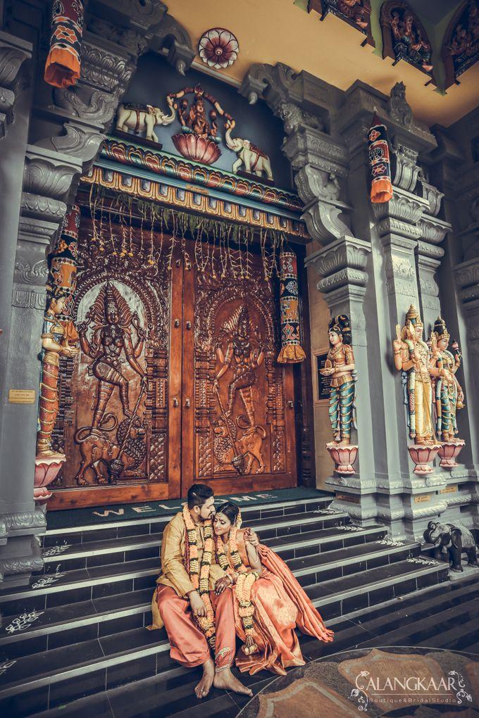 Nirmall Singh & Yogeswari by Alangkaar Bridal Studio - 001