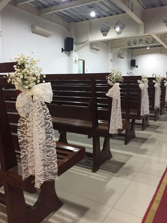 Holy Ceremony in GKJ Jakarta by CITTA Wedding - 004