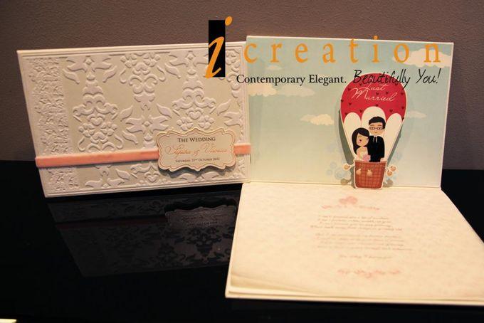 3 Dimensional Wedding Invitation by Icreation - 002
