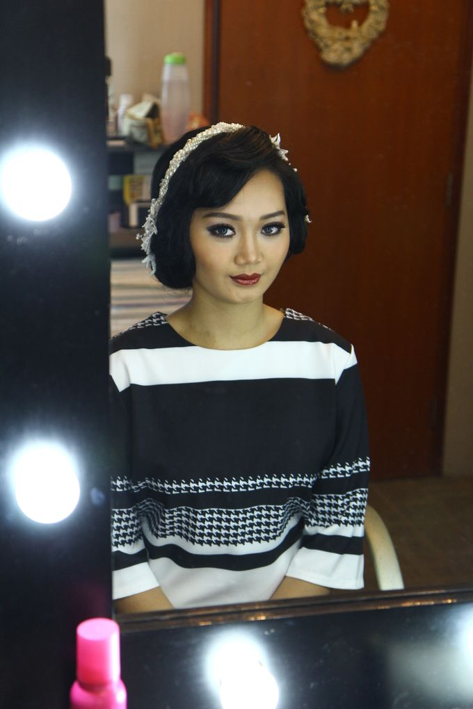 Bridal Makeup and Hairdo by Lee Cinthya Makeup Artist - 001