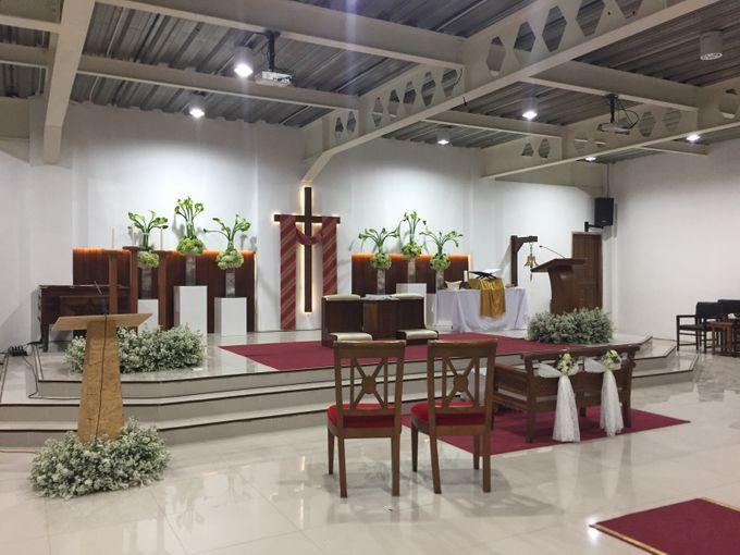Holy Ceremony in GKJ Jakarta by CITTA Wedding - 001