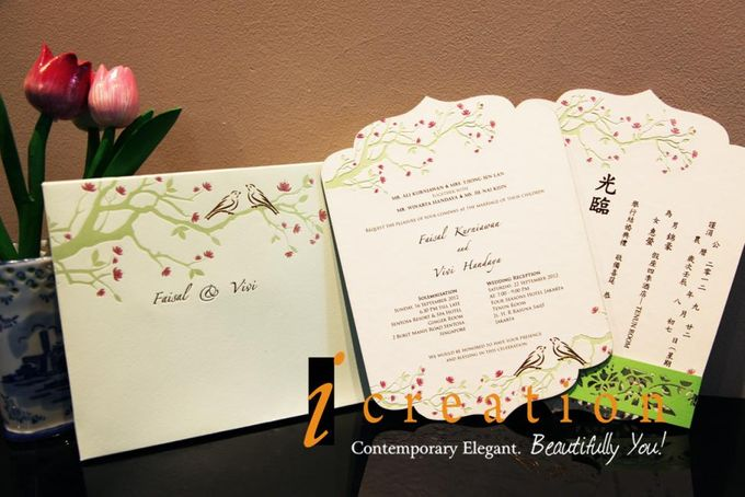 Flower and Nature Theme Wedding by Icreation - 002