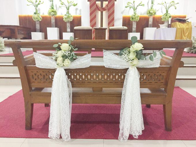 Holy Ceremony in GKJ Jakarta by CITTA Wedding - 006